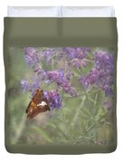 Silver Spotted Skipper Duvet Cover