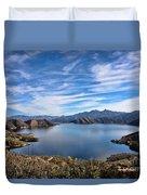 Silverwood Lake Duvet Cover