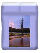 Simple Beauty Of Yellowstone Duvet Cover