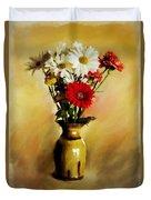 Simple Bouquet Duvet Cover