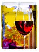 Wine - Simple Life Duvet Cover