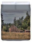Simpler Times Duvet Cover by Randy Hall
