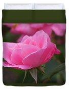 Simplicity Floribunda Rose Duvet Cover