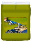 Simply Jaguar-front Emblem Duvet Cover