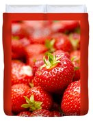 Simply Strawberries Duvet Cover