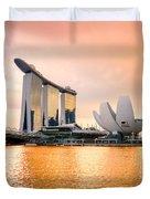 Singapore - Marina Bay Sand Duvet Cover