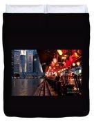 Singapore Boat Quay 03 Duvet Cover