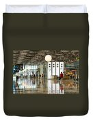 Singapore Changi Airport 02 Duvet Cover by Rick Piper Photography
