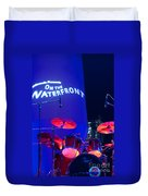 Singapore Drum Set 02 Duvet Cover by Rick Piper Photography