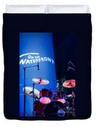 Singapore Drum Set 03 Duvet Cover by Rick Piper Photography