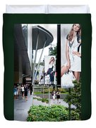 Singapore Orchard Road 02 Duvet Cover