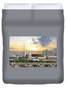 Singapore Parliament Building And Supreme Law Court  Duvet Cover