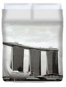 Singapore Skyline Duvet Cover