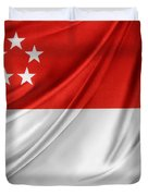Singaporean Flag Duvet Cover