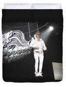 Singer Justin Bieber Duvet Cover