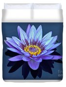 Single Lavender Water Lily Duvet Cover