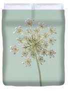 Single Queen Anne's Lace Duvet Cover