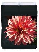 Single Red Bloom Duvet Cover
