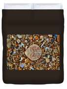 Single Shell Hatteras Island 17 9/3 Duvet Cover