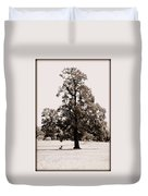 Single Tree Journey Duvet Cover
