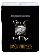 Sins Of The Father Book Cover Duvet Cover