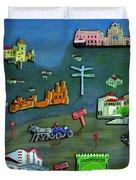 Sintra Portugal Duvet Cover
