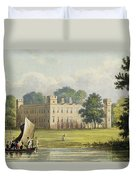 Sion House, From R. Ackermanns Duvet Cover