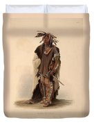 Sioux Warrior Duvet Cover