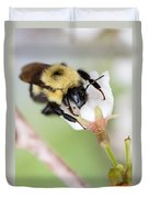 Sipping Nectar Duvet Cover