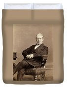 Sir Charles Wheatstone (1802-1875) Duvet Cover