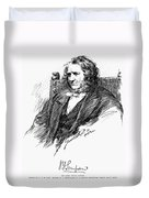 Sir James Young Simpson Duvet Cover