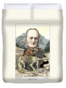 Sir Richard Owen (1804-1892) Duvet Cover