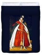 Sir Robert Devereux (1566-1601) Duvet Cover