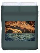 Siren Rocks II Duvet Cover