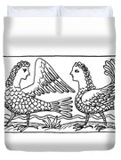 Sirens, Mythological Creature Duvet Cover
