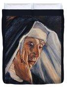 Sister Ann Duvet Cover