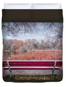 Sit With Me Duvet Cover