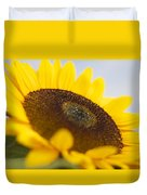 Sitting In The Sun Duvet Cover