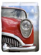Sitting Pretty - Buick Duvet Cover
