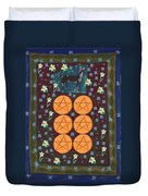 Six Of Pentacles Duvet Cover