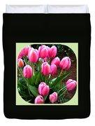 Skagit Valley Tulips 9 Duvet Cover