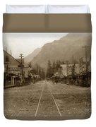 Skagway Alaska H. C. Bailey Photographer June 15 1898 Duvet Cover