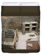 Skara Brae Boudoir Duvet Cover