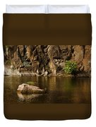 Skc 2964 The Rustic Rocks And Ripply Waters Duvet Cover