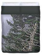 Skeletal Treescape Duvet Cover