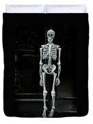 Skeleton New York City Duvet Cover