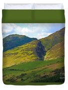 Skiddaw In The Lake District Duvet Cover