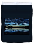 Skies Of The Great North Duvet Cover