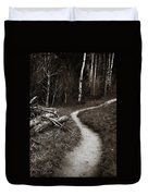 Skinny Trails Duvet Cover