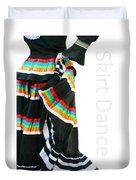 Skirt Dance Duvet Cover